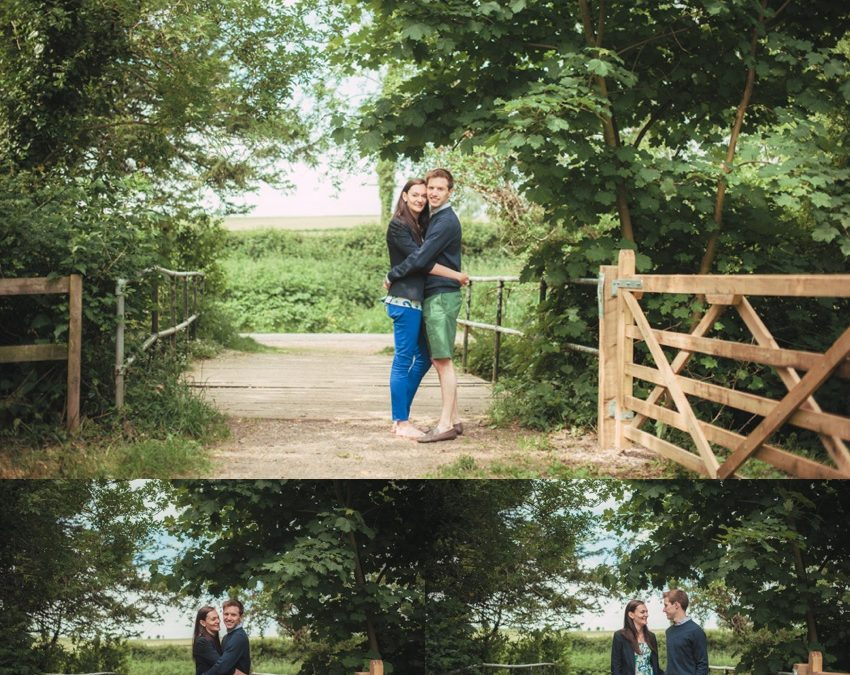 Beccy & Jamie's Winchester pre-wedding photography