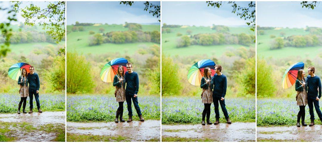 Katie & John's enagagement shoot – a riot of colour & gorgeousness at Winkworth Arboretum