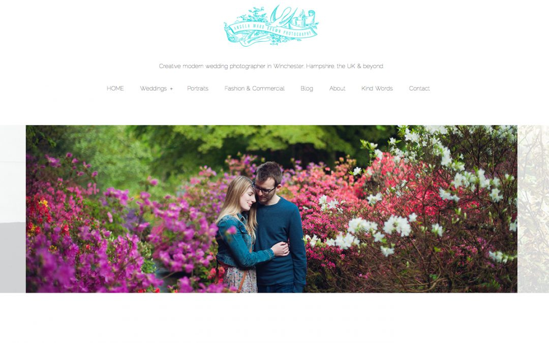 My new website is live – and lo! the people did rejoice!