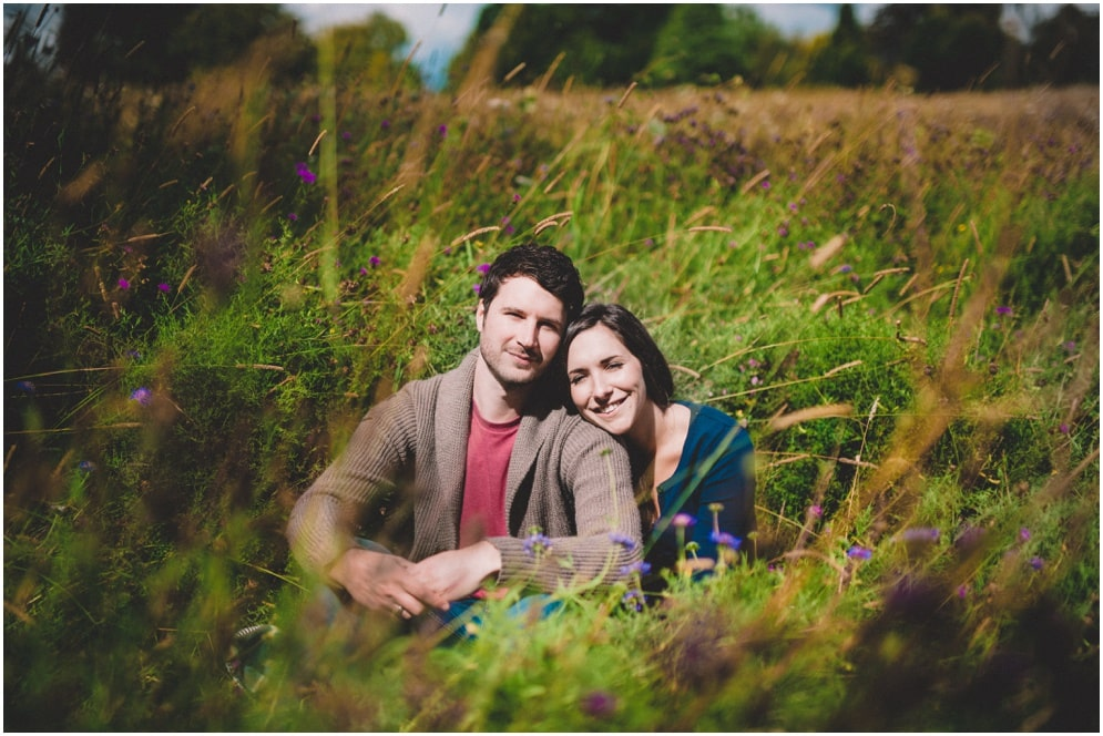Jade & James' Highclere Castle engagement shoot
