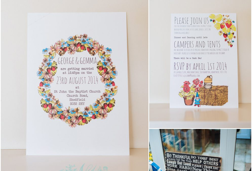 Gemma & George Got Married! (In Hampshire, it was lovely)