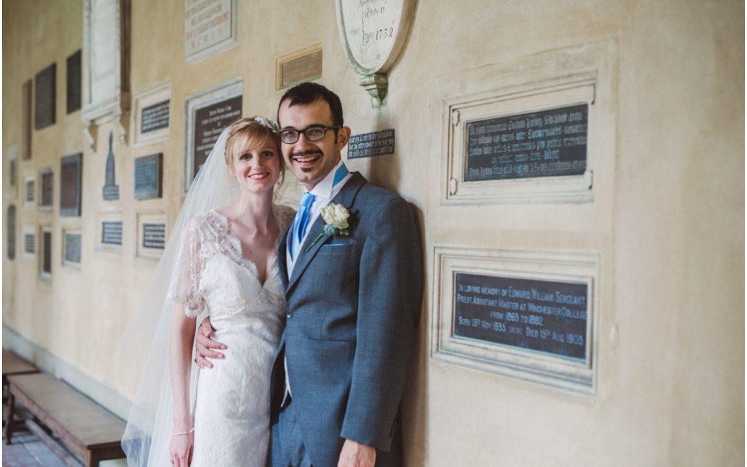 Caroline & Salvatore's Winchester Cathedral Wedding previews