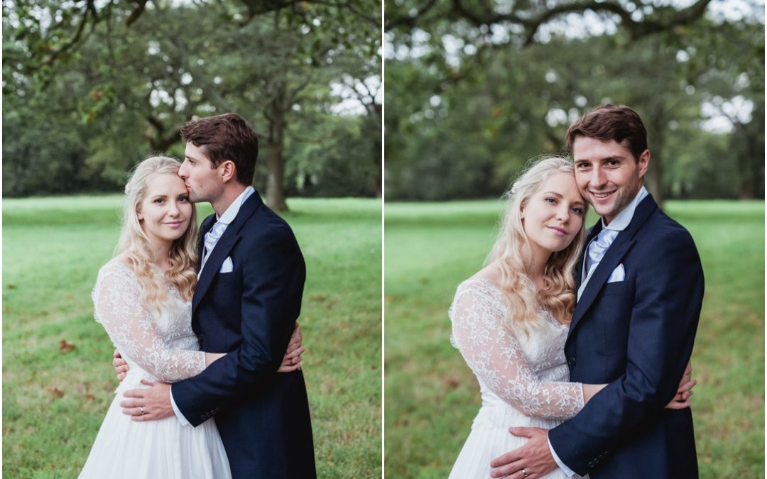 A blush dress & a mad hatters tea party; Dirk & Charlotte Got Married