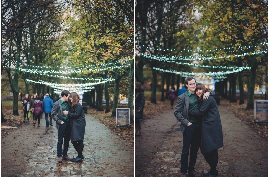 Louise & John's Winchester Christmas engagment shoot!