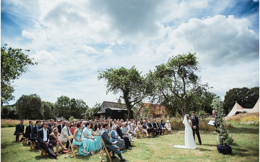 Natasha & Jack's New Forest Wedding