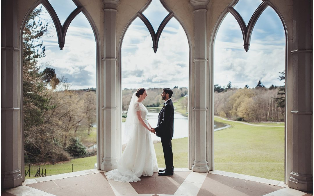 Maria & Mo's Painshill Park wedding