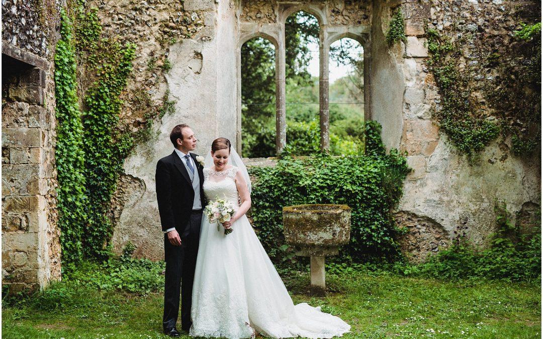 Hugo & Sarah's Lainston House wedding
