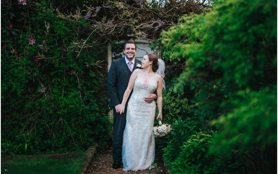 Charlotte & Chris's Northbrook Park wedding