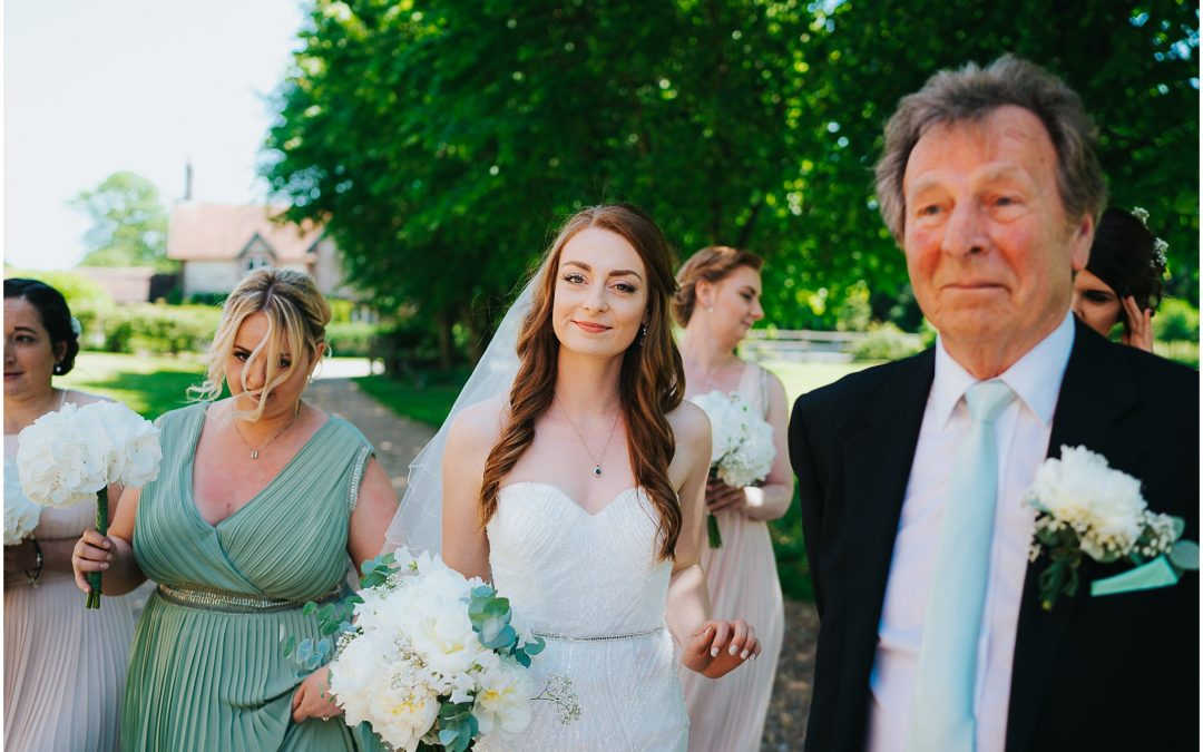 Emily & James' beautiful summer wedding at Tithe Barn
