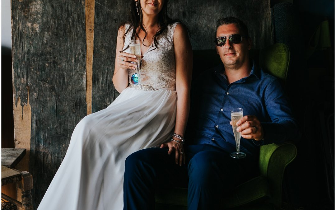 Faith & Cliff's Hampshire Festival wedding
