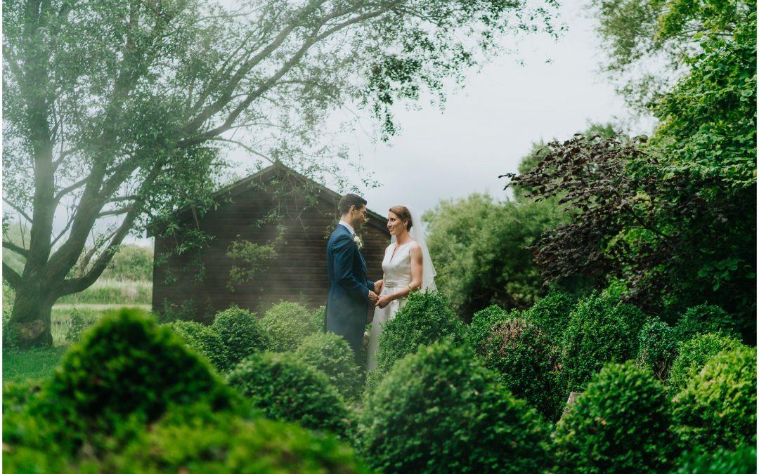 Patrick & Anna's magical Houghton Lodge, Hampshire wedding photography….