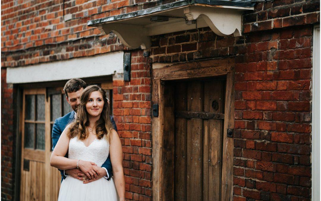 Megan & Ross' Winchester wedding at Hotel Du Vin