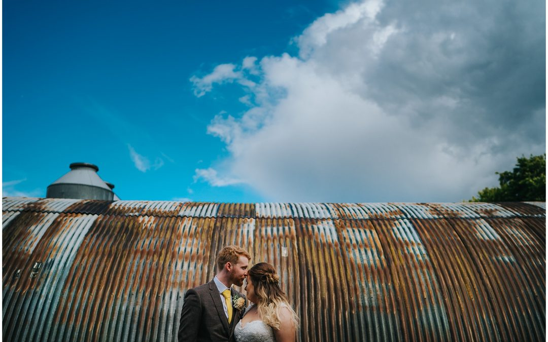 Sam & Katie's Monks Barn, Hurley wedding