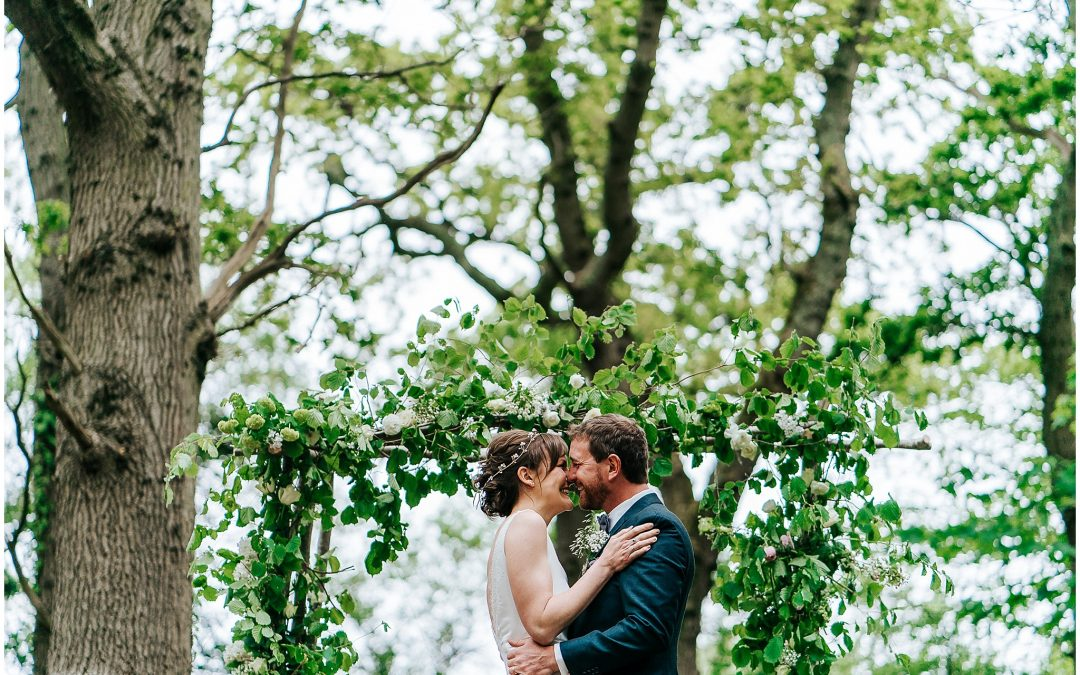 Hayley & Charlie's New Forest wedding