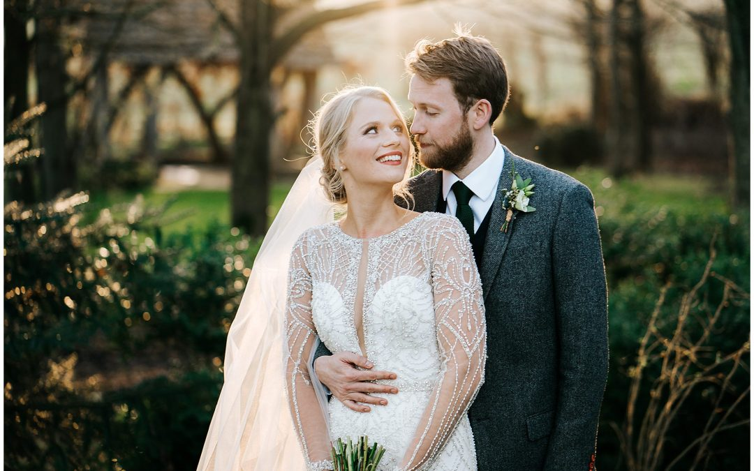 Scott & Saskia's beautiful Cripps Barn Winter wedding