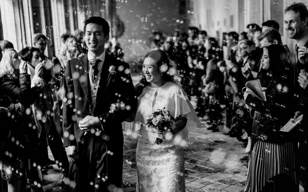 Andrew & Tara's Winchester College wedding