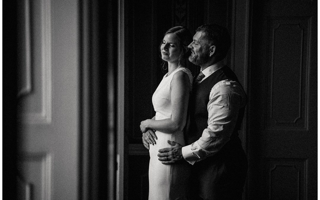 Emma & Rich's intimate family wedding at Avington Park