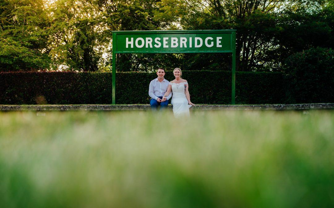 Zo & Matt's Horsebridge Station Wedding amazingness