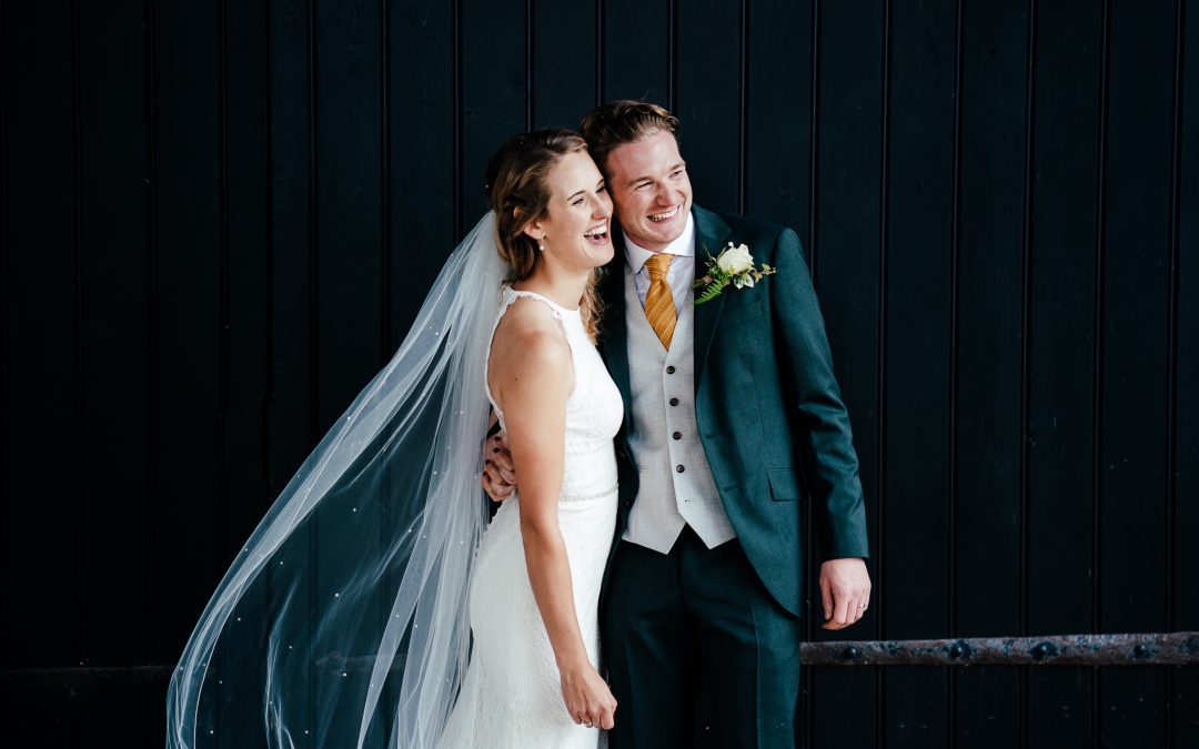 Wedding photographer in Hampshire: Michelmersh Barn wedding
