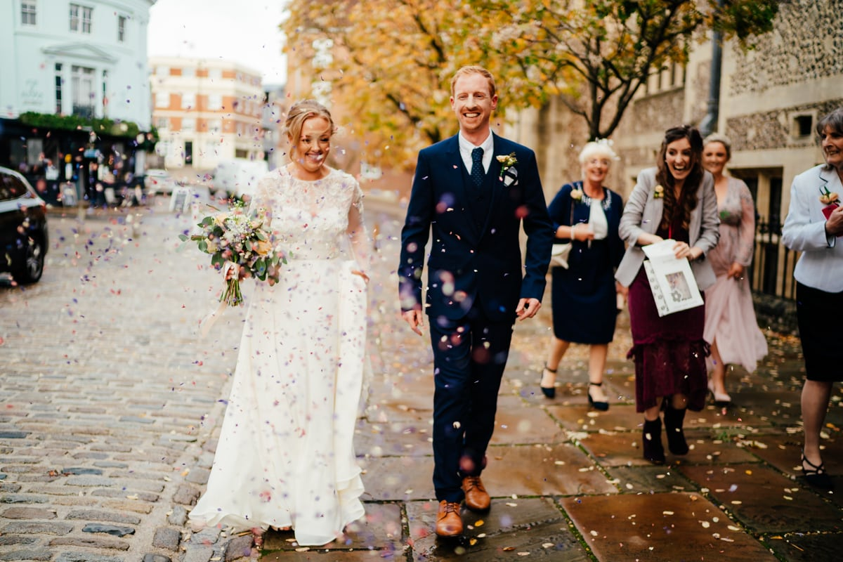 A wedding at Winchester registry office