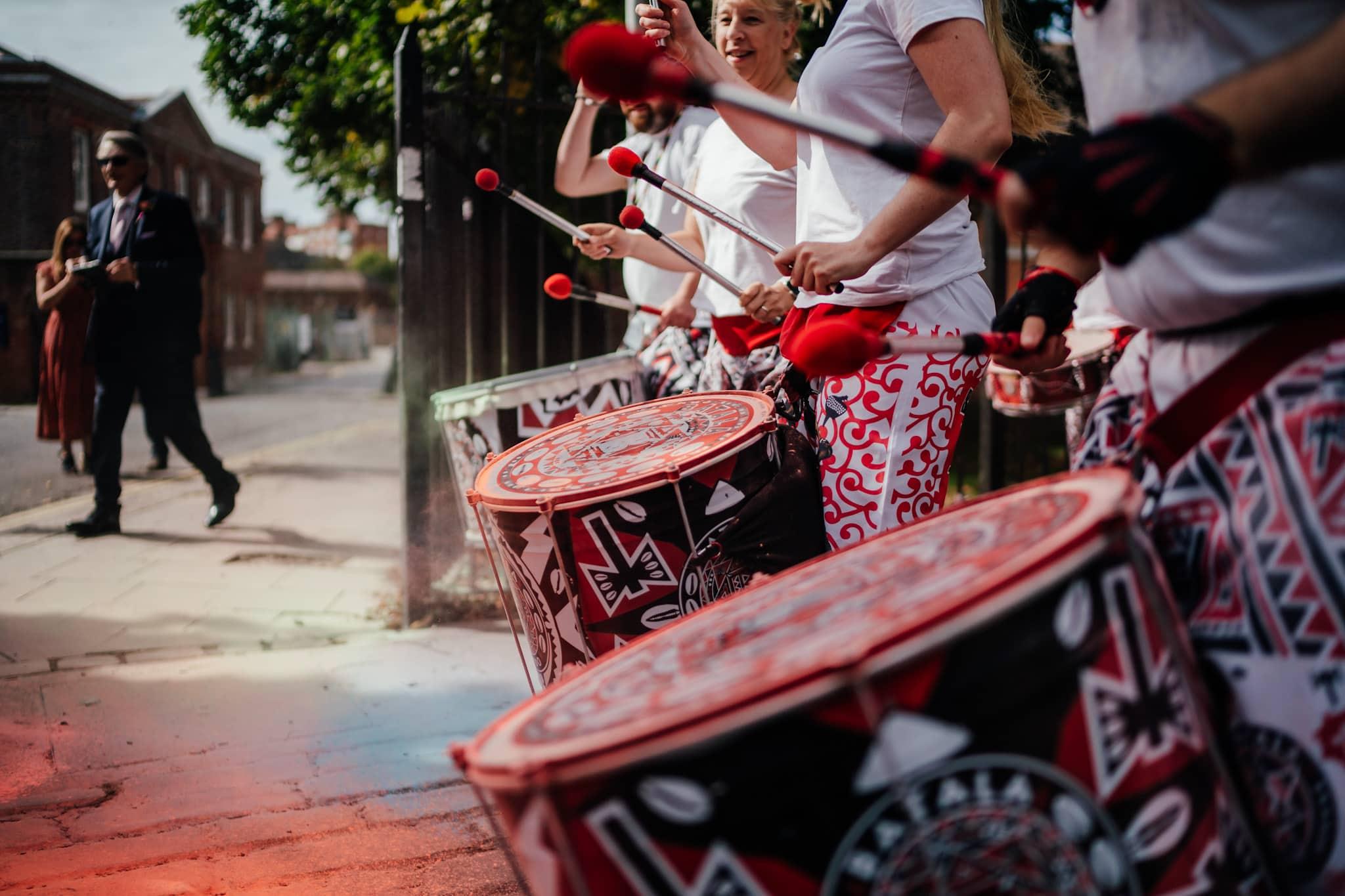 wedding drummers