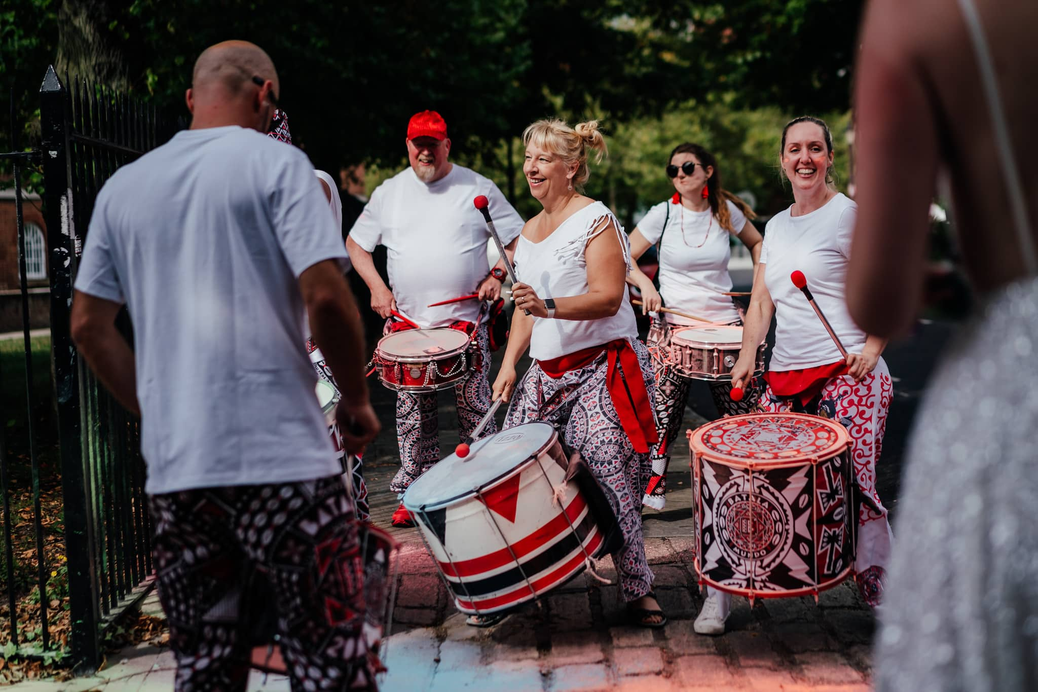wedding samba band