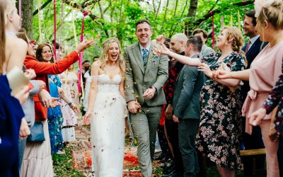 Chaz & Tom's High Billinghurst Farm Wedding