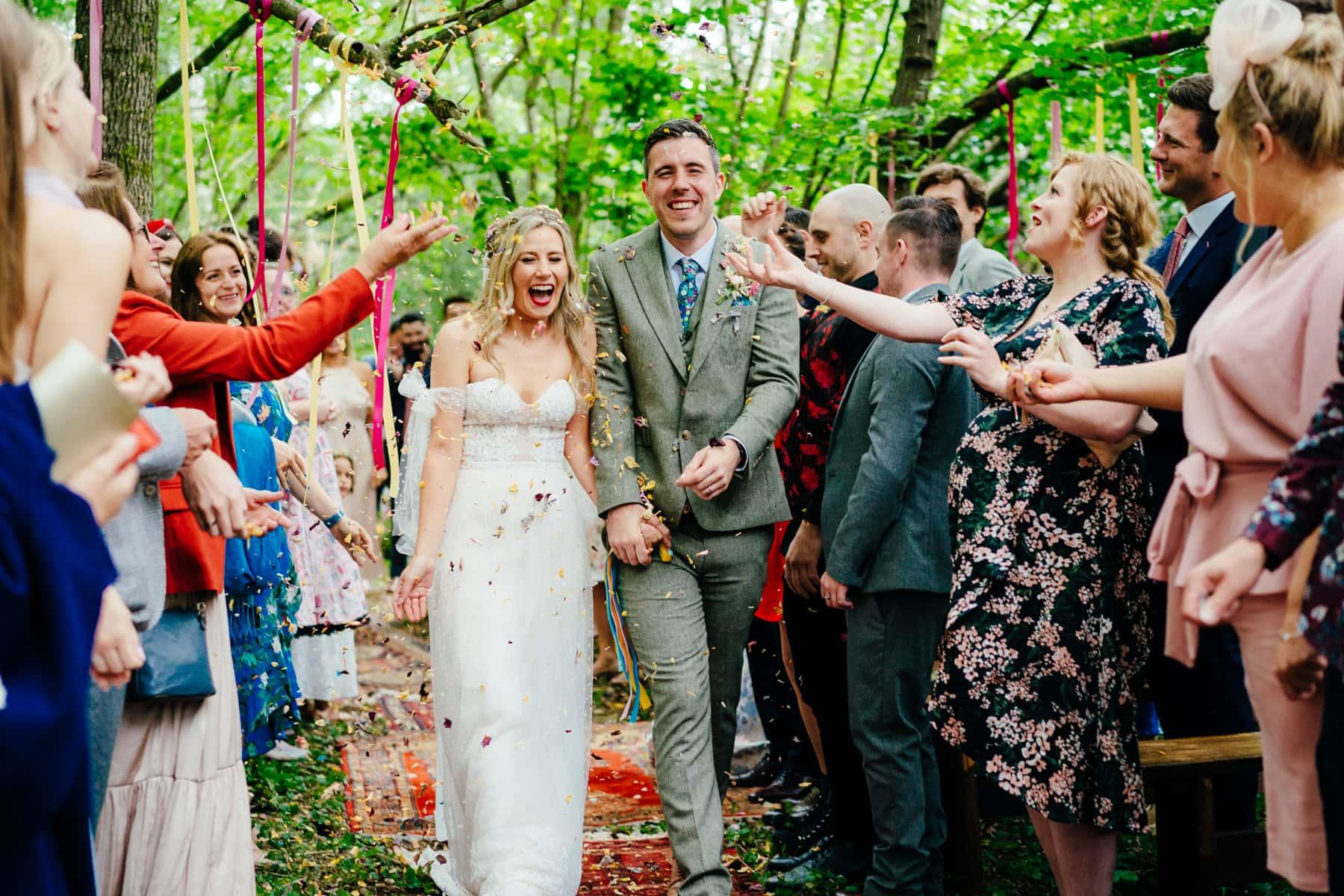 High Billinghurst farm wedding